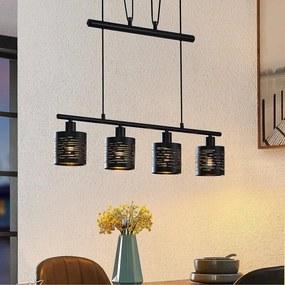 Iolyn balk hanglamp, in hoogte verstelbaar - lampen-24