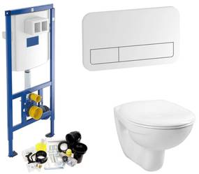 Villeroy & Boch ViConnect Toiletset set01 B&W Basic Smart met DF ViConnect drukplaat