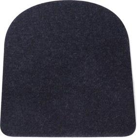 Hey-Sign 5 mm seatpad voor Tolix stoel | Graphite 08- Stoelkussen - Wolvilt - Zitkussen - Diverse kleuren - Legend café stoel - Vuilafstotend