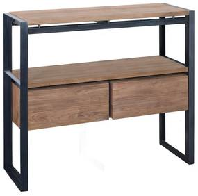 D-Bodhi Fendy Industriele Sidetable - 100 X 36cm.