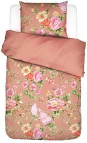 Essenza | Dekbedovertrekset Claudie een-persoonsmall: breedte 140 cm x lengte 220 cm + koraal, roze dekbedovertreksets katoen | NADUVI outlet