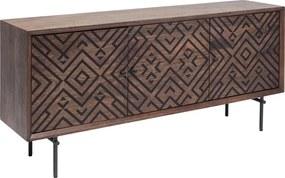 Kare Design Ethno Design Dressoir Mangohout - 169x40x78cm.