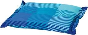 Hockerkussen 50 bij 50cm Multi Blue
