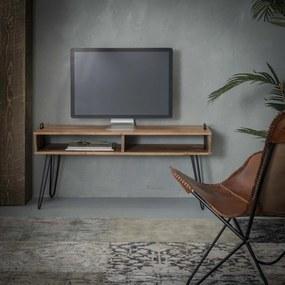 Tv-meubel Van Massief Acaciahout - 110x35x45cm.