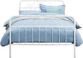 Bed Jazz - wit - 120x200 cm - Leen Bakker