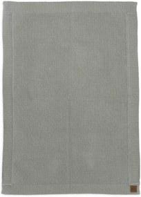 Wool knitted blanket - Mineral Green - Babydeken