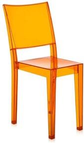 Kartell La Marie stoel licht oranje