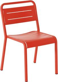 Emu Urban Chair tuinstoel rood set van 4