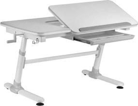 Vipack bureau Comfortline - grijs - 119x73x58 cm - Leen Bakker