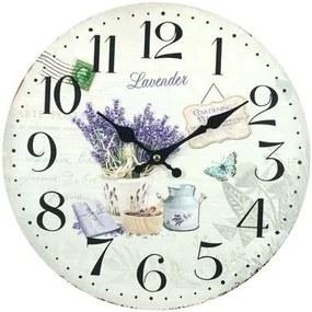 Klokken Wit Signes Grimalt  Lavendel Klok