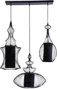 Kare Design Swing Iron Retro Hanglamp Zwart 3