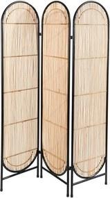 ARCHIE Kamerscherm naturel H 180 x B 126 x D 6.5 cm
