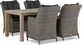 Garden Collections Buckingham/Bristol 180 cm dining tuinset 5-delig