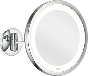 Aliseo LED Lunatec make-up spiegel 24cm messing/staal chroom 020600