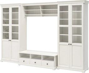 LIATORP Tv-meubel, combi 337x214 cm wit