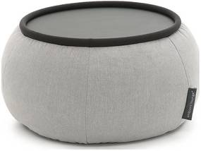 Ambient Lounge Poef Versa Table - Keystone Grey