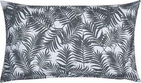 Sierkussenhoes Palm Leaf - Grijs - 30 x 50 cm Fresh & Co Soort: Sierkussenhoes - Ga naar Dekbed-Discounter.nl & Profiteer Nu
