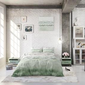 Sleeptime Elegance Home Sleep - Groen 1-persoons (140 x 220 cm + 1 kussensloop) Dekbedovertrek