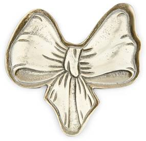 Rivièra Maison - Lovely Bow Mini Serving Tray - Kleur: goud