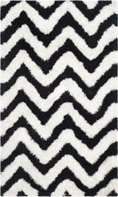 Safavieh | Vloerkleed Delhi 90 x 150 cm ivoor, zwart vloerkleden katoen, polyester vloerkleden & woontextiel vloerkleden | NADUVI outlet