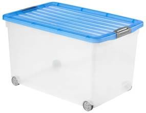 Curver click'n fit opbergbox - 60 liter - blauw
