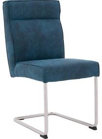 Goossens Knock Out blauw microvezel , modern design