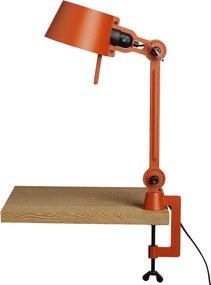 Tonone Bolt 1 arm bureaulamp small met tafelklem striking orange