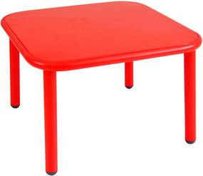 Emu Yard Coffee Table bijzettafel scarlet red 60x60