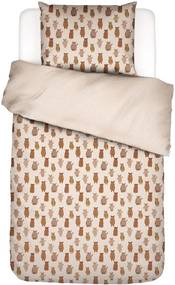Covers & Co Beary Much katoen perkal dekbedovertrekset 200TC - inclusief kussensloop