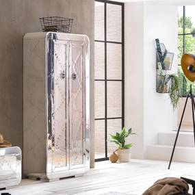 Aluminium Wandkast Met Planken - 80x40x180cm.