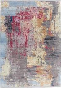 Dejaroom | Vloerkleed Colors lengte 150 cm x breedte 80 cm x hoogte 0.8 cm multicolour vloerkleden bovenkant: polyester, | NADUVI outlet