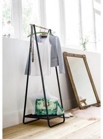 Compactor Nora kledingrek met legplank - zwart