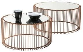 Kare Design Wire Copper Tafelset Koper - 69.5 X 69.5cm.