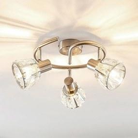 Kosta plafondlamp, 3-lamps, nikkel - lampen-24