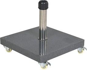 Parasolvoet Cosmo 40 kg graniet grijs