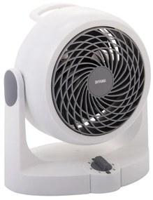 IRIS bureau ventilator Woozoo - wit - 15 cm