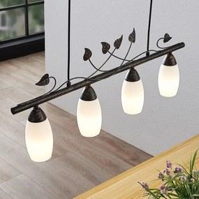 Isalie LED balkhanglamp, 4-lamps - lampen-24