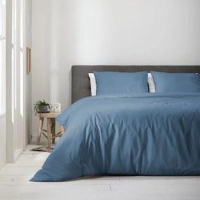 Fresh & Co 2-Pack Uni Pantone - Jeans Blauw 1-persoons (140 x 220 cm + 1 kussensloop) Dekbedovertrek