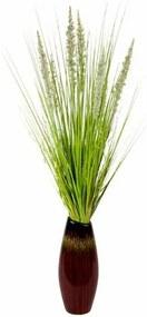 Kunstplant »Grasbundel in vaas«