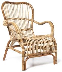 Rotan fauteuil Bandung - naturel - 83x69x84 cm
