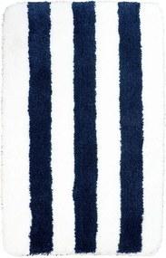 Badmat Vienne blauw/wit 60x90cm