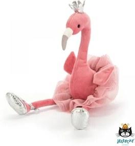 Knuffel Fancy flamingo