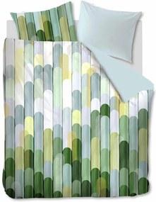Oilily   Dekbedovertrekset Dimension eenpersoons extra: breedte 160 cm x lengte 200/220 groen dekbedovertrekken katoensatijn   NADUVI outlet