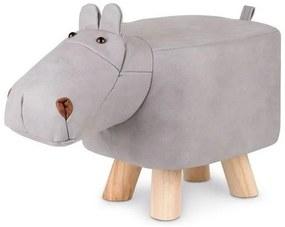 Cozy Noxxiez Krukje Nijlpaard Junior 48 Cm Kunstleer/Hout