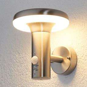 LED-buitenwandlamp Pepina met bewegingssensor - lampen-24