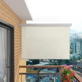 Balkon zijluifel multifunctioneel 180x200 cm crème