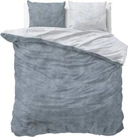 Sleeptime Elegance Twin Washed - Blauw 1-persoons (140 x 220 cm + 1 kussensloop) Dekbedovertrek