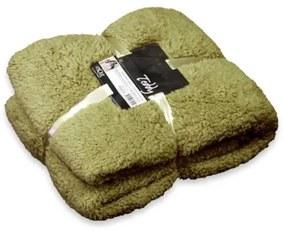 Teddy fleece plaid