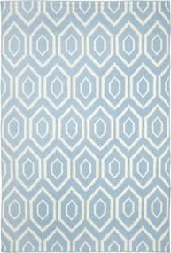 Safavieh | Handgeweven vloerkleed Casablanca 76 x 180 cm blauw, ivoor vloerkleden wol, katoen vloerkleden & woontextiel | NADUVI outlet