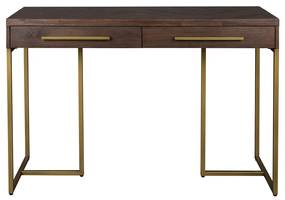 Dutchbone Class Visgraat Sidetable Met Messing - 120 X 45cm.